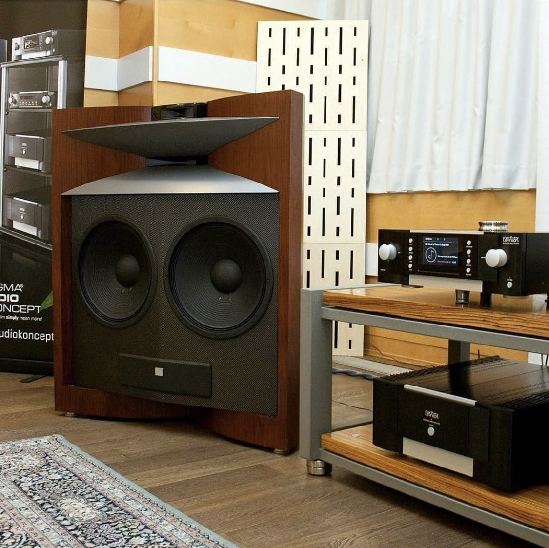 JBL Everest giant speakers