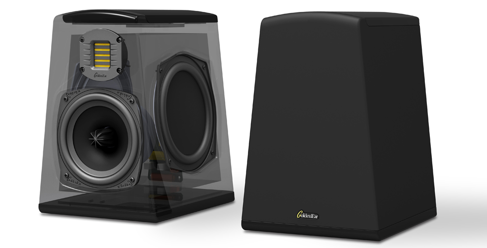 GoldenEar AON3 bookshelf speakers
