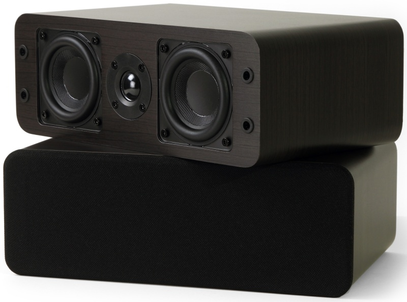 Micca OoO speaker review center channel and bookshelf